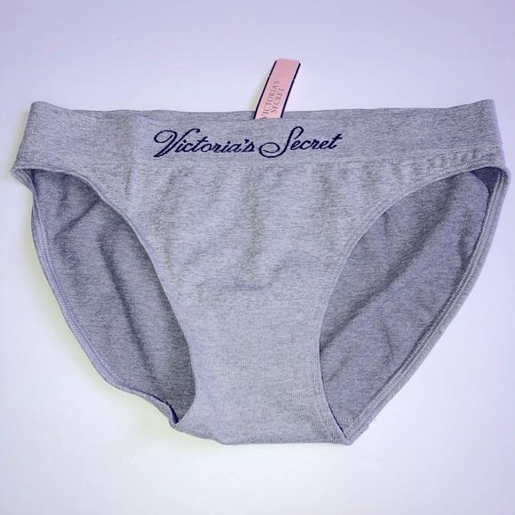 NEW Victoria's Secret VS Panties Bikini Gray
